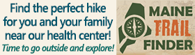 click here to find hiking trails near our health center. Time to go outside and explore!